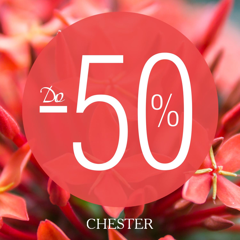 Самый цвет лета: в CHESTER скидки до 50%